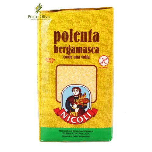 Мука кукурузная полента Nicoli Bergamasca, 1кг