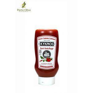 Кетчуп томатный Kyknos острый, 580г