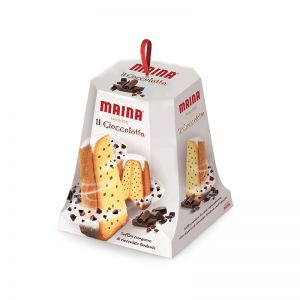 Рождественский кекс Пандоро с шоколадом MAINA, 750г