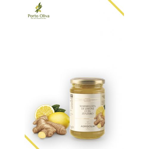 Джем из лимона и имбиря Agrisicilia, 360г