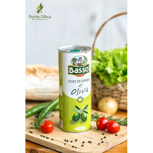 Масло оливковое BASSO Pomace olive oil, 1л