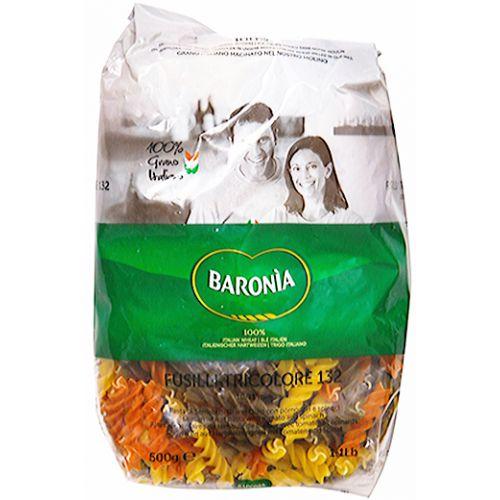 Макароны цветные Baronia Fusilli (Фузили) No.132, 500г