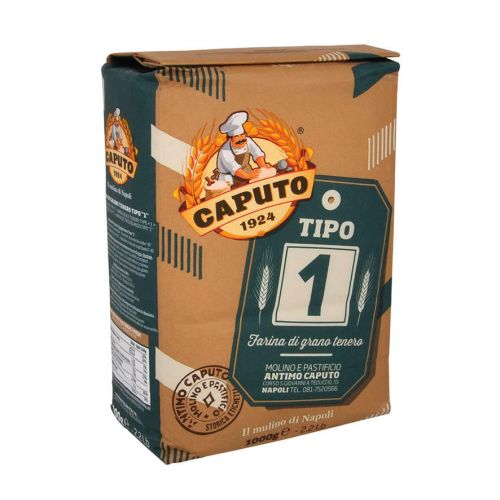 Мука для серого хлеба из мягких сортов Caputo тип 1, 1кг