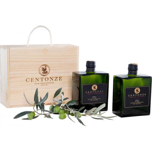 Подарочный набор масел Centonze Case di Latomie 2х500мл