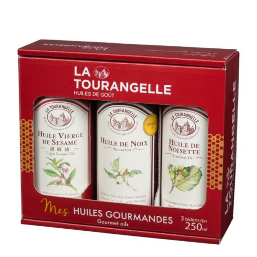 Подарочный набор ореховых масел LeTRIO La Tourangelle 3х250мл