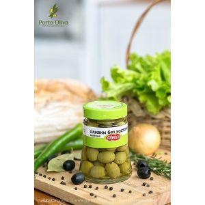 Оливки зелёные без косточки D'Amico, 290г