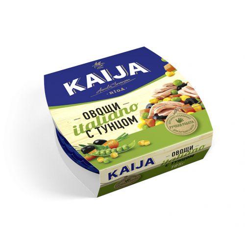 Овощи с тунцом Italiano Kaija 180г