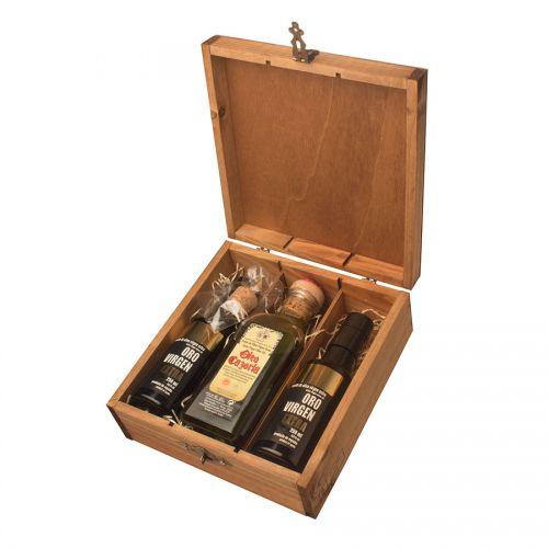 Подарочный набор масел Oro Virgen 2х250мл + 1х500мл