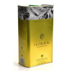 Масло оливковое премиум ILIADA PDO Kalamata, 3л