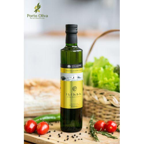 Масло оливковое премиум ILIADA PDO Sitia, 500мл