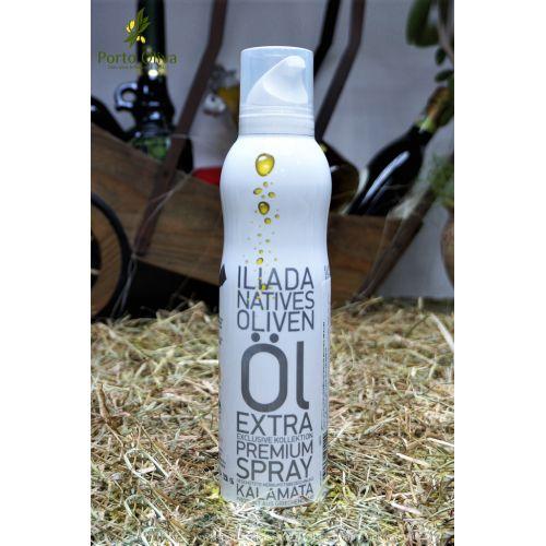 Масло оливковое премиум ILIADA Kalamata спрей, 200мл