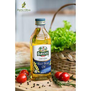 Масло рисовое рафинированное Basso, 500мл