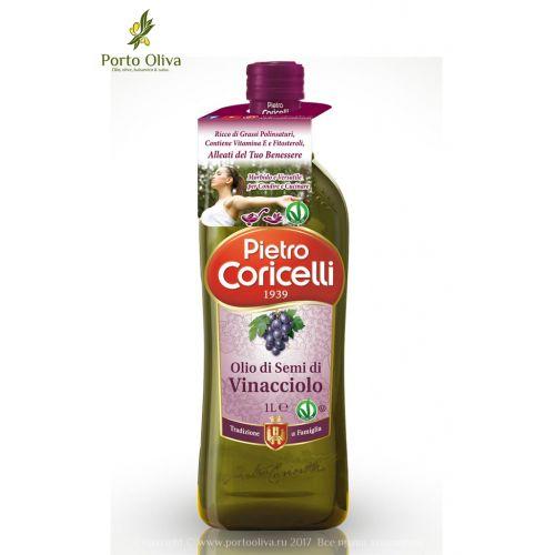 Масло виноградной косточки рафинированное Pietro Coricelli, 1л