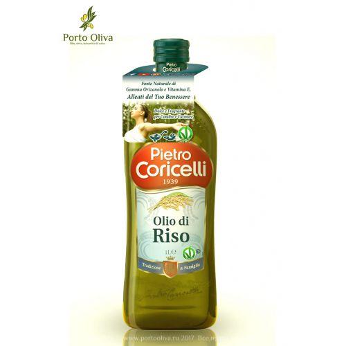 Масло рисовое рафинированное Pietro Coricelli, 1л