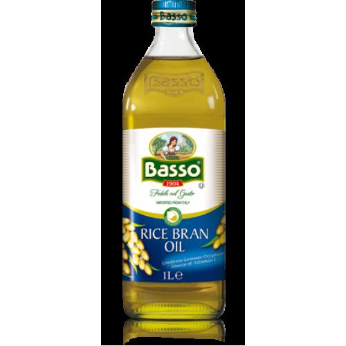 Масло рисовое рафинированное Basso, 1л