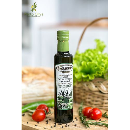 Оливковое масло с ароматными травами Barbera, 250мл