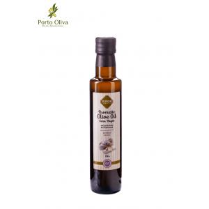 Оливковое масло с чесноком EVROS, 250мл