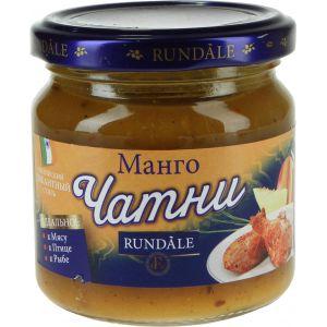 Соус Чатни манго Rundale, 180г