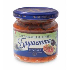 Соус Брушетта с баклажанами и оливками Rundale, 180г