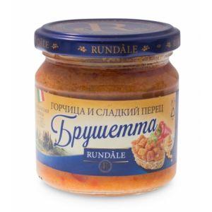 Соус Брушетта с горчицей и сладким перцем Rundale, 180г