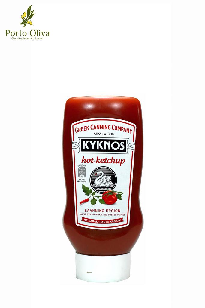 Кетчуп томатный Kyknos острый, 580г фото