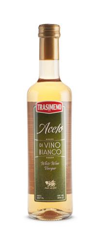 Уксус винный белый 6% Trasimeno 500мл фото