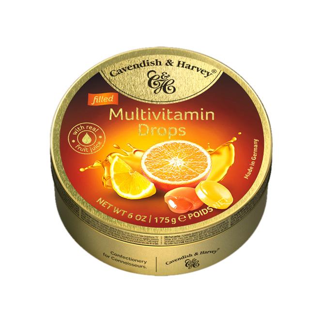 "Леденцы Cavendish & Harvey ""Мультивитамин"", 175г"