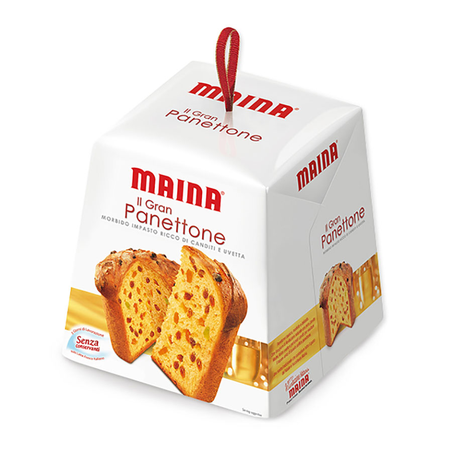 Рождественский кекс Пенеттоне MAINA 500г фото