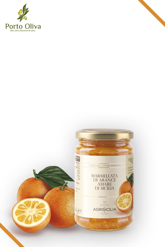Джем из горького апельсина Agrisicilia, 360г