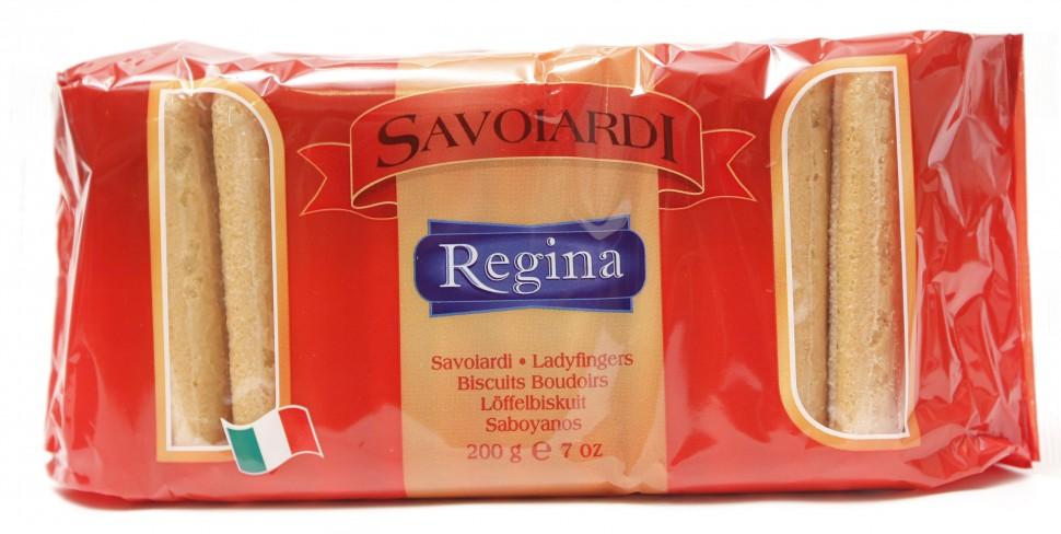 Печенье для тирамису Савоярди Regina 200г фото