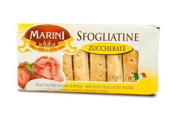 Печенье Сфольятине с сахаром Marini 200г