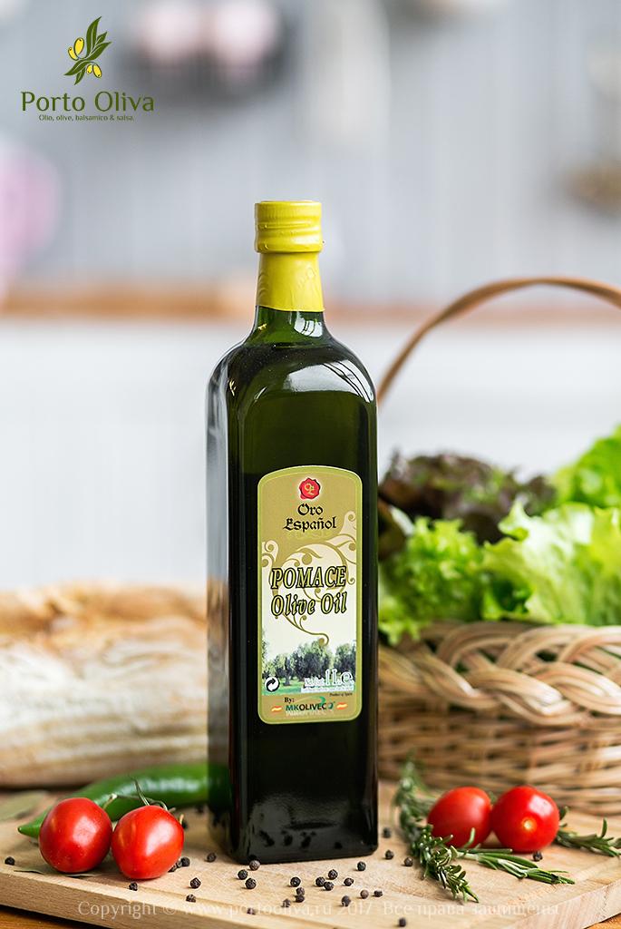 Масло оливковое Oro Espanol (Pomace olive oil) 1л фото