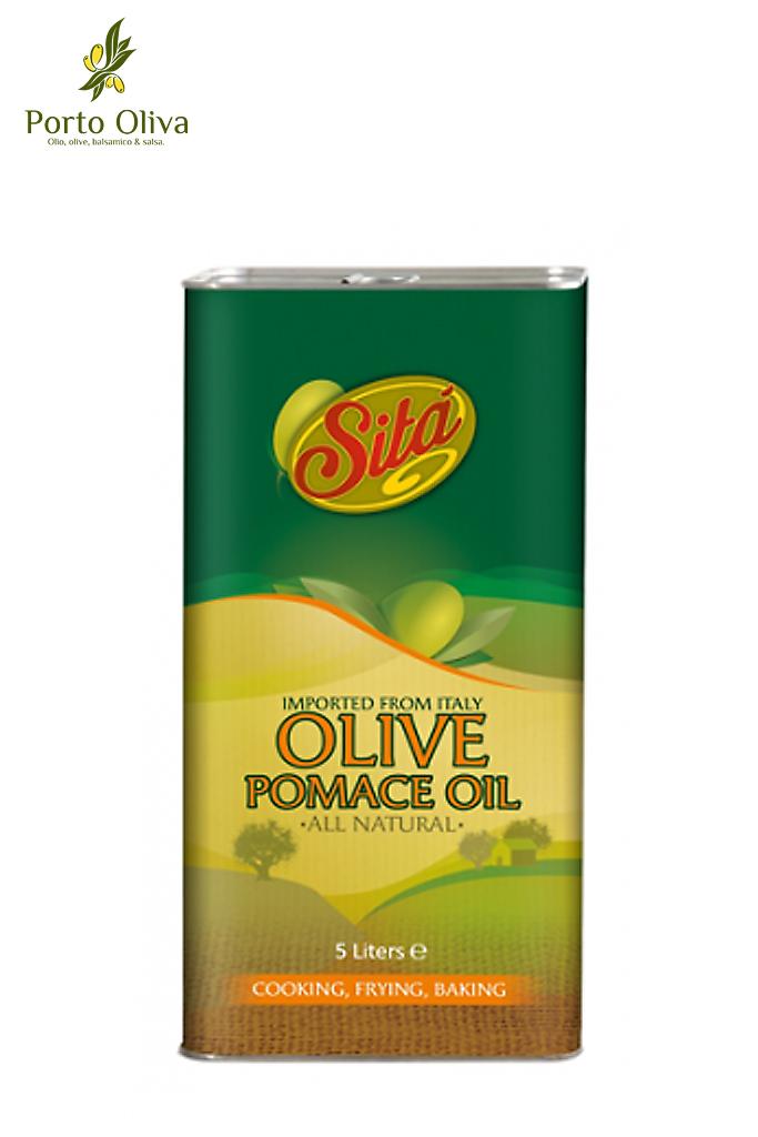 Масло оливковое Sita Pomace olive oil, 5л