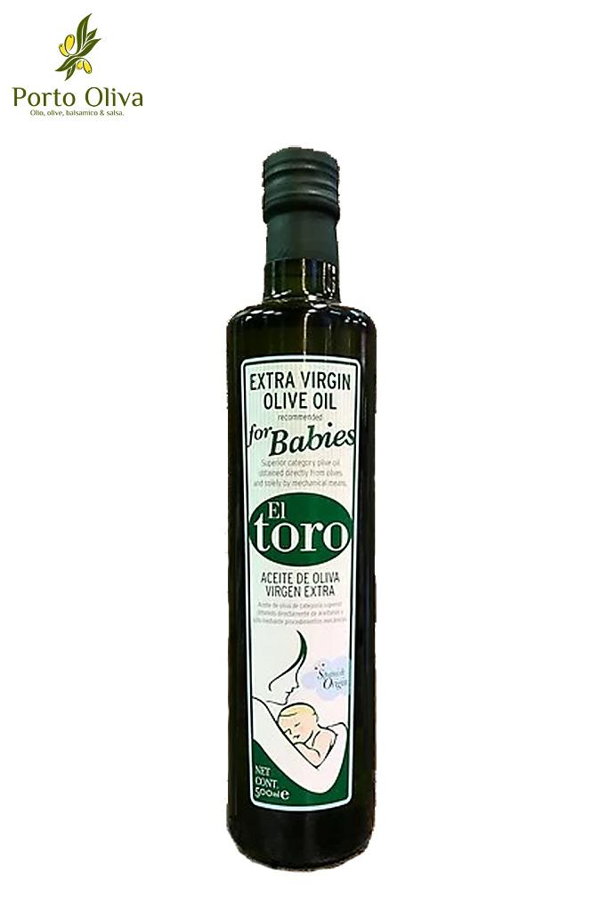 Масло оливковое для детей El Toro Baby Oil, 500мл фото