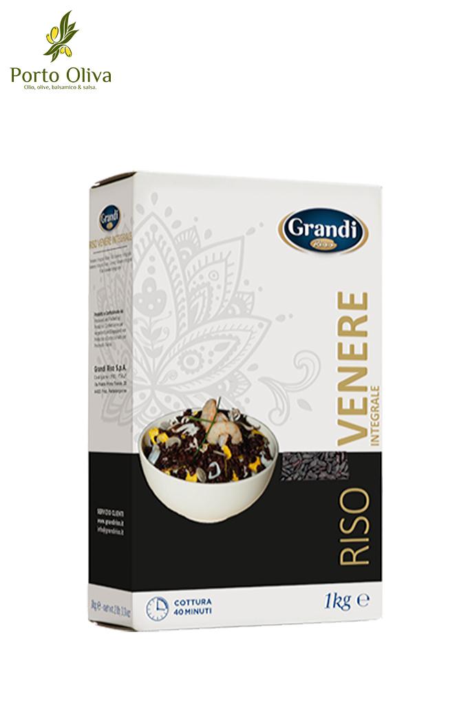 Рис черный Венере Grandi Riso, 1кг