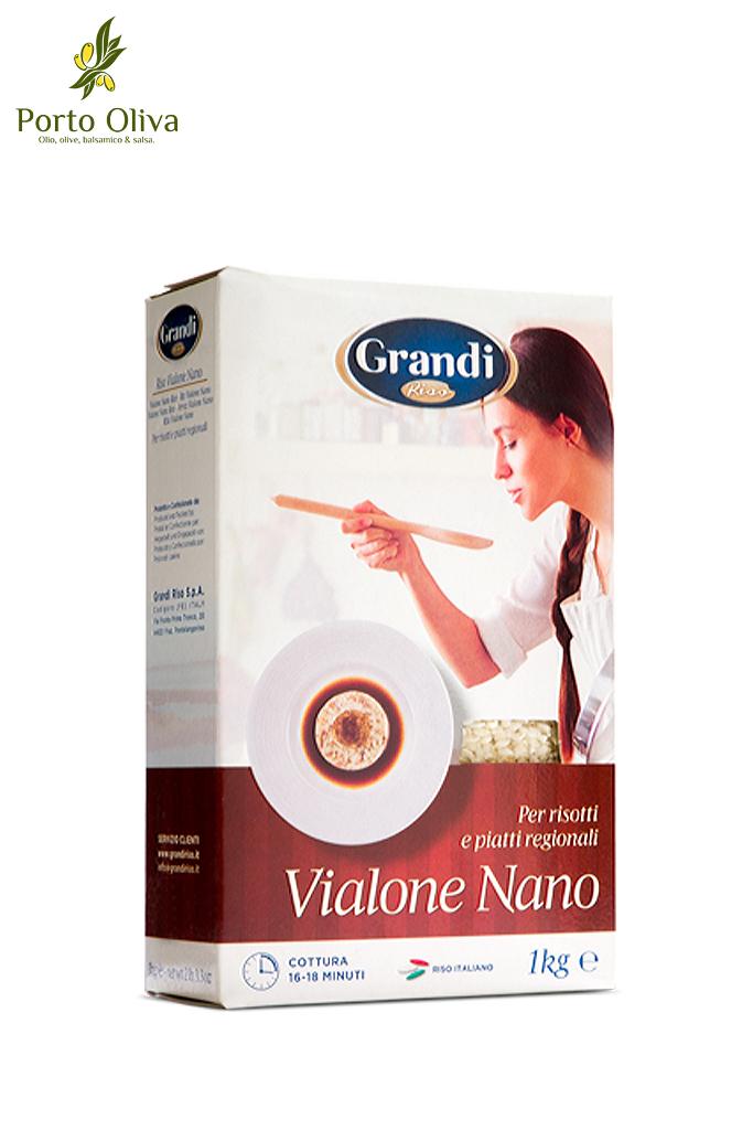 Рис Виалоне Нано Grandi Riso, 1кг
