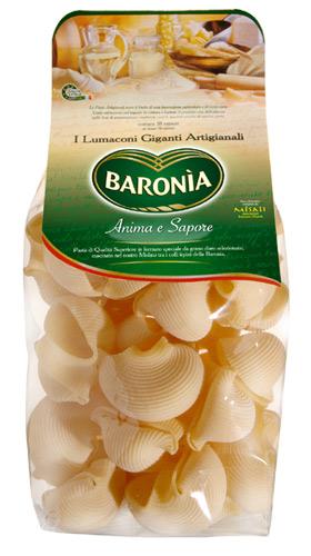 Итальянская паста Барония Люмакони гиганты фото