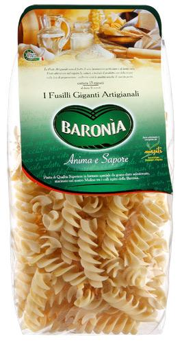 Итальянская паста Барония Фузили гиганты фото
