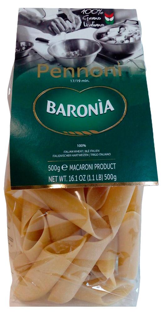 Итальянская паста Барония Пеннони гиганты фото