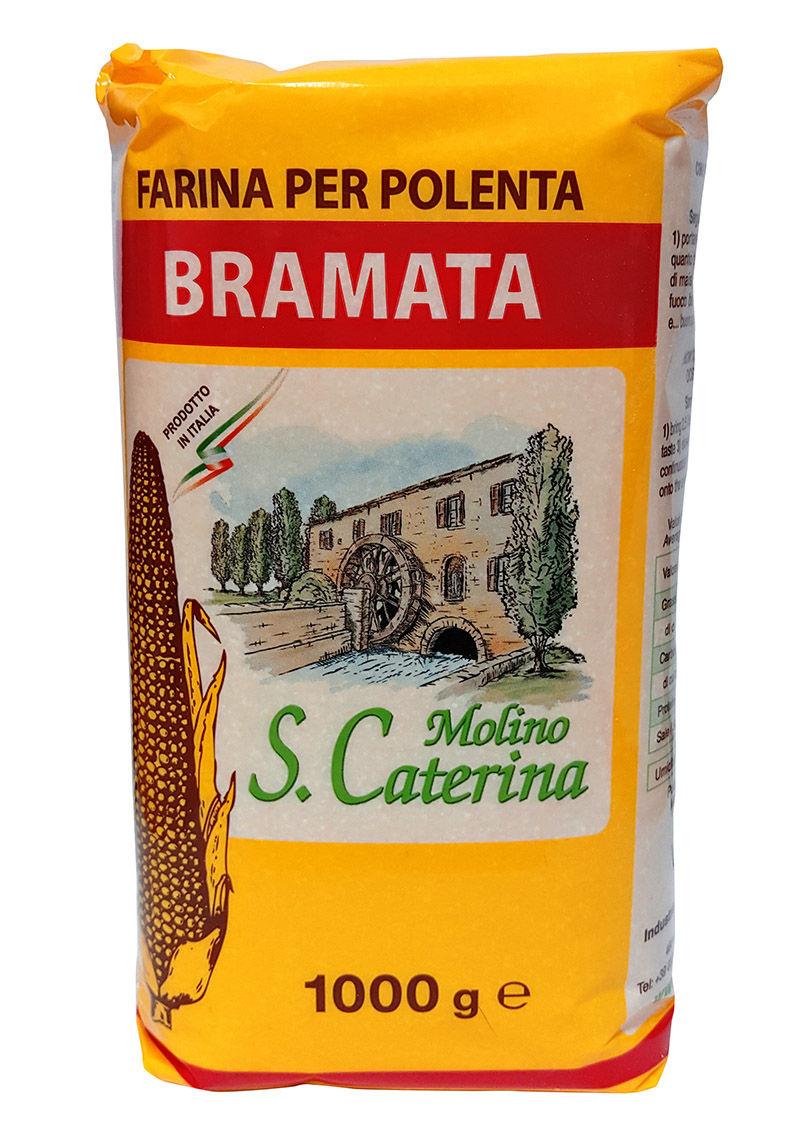 Итальянская кукурузная мука Брамата
