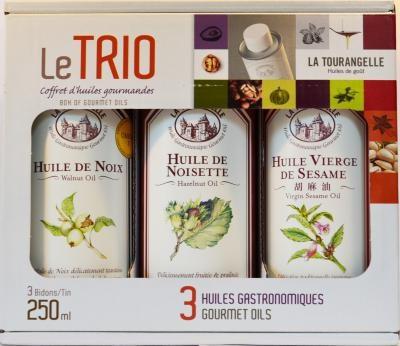 Подарочный набор ореховых масел LeTRIO 3х250мл фото