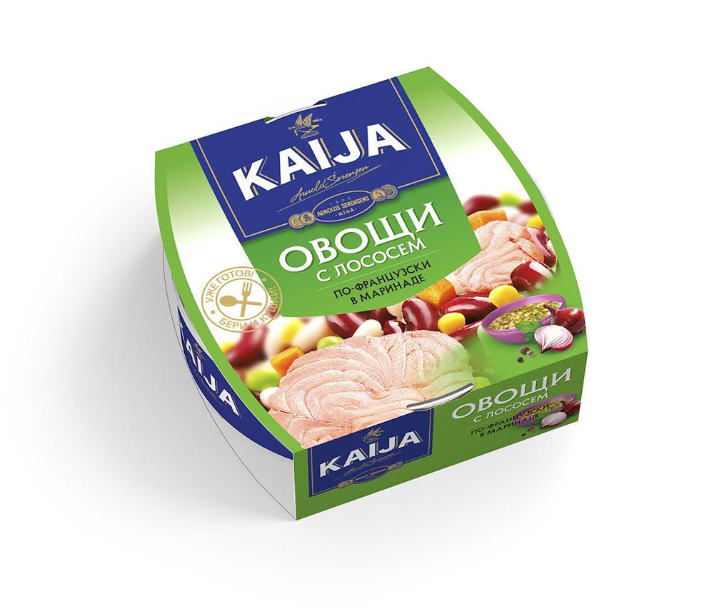Овощи с лососем по-французски Kaija 220г фото