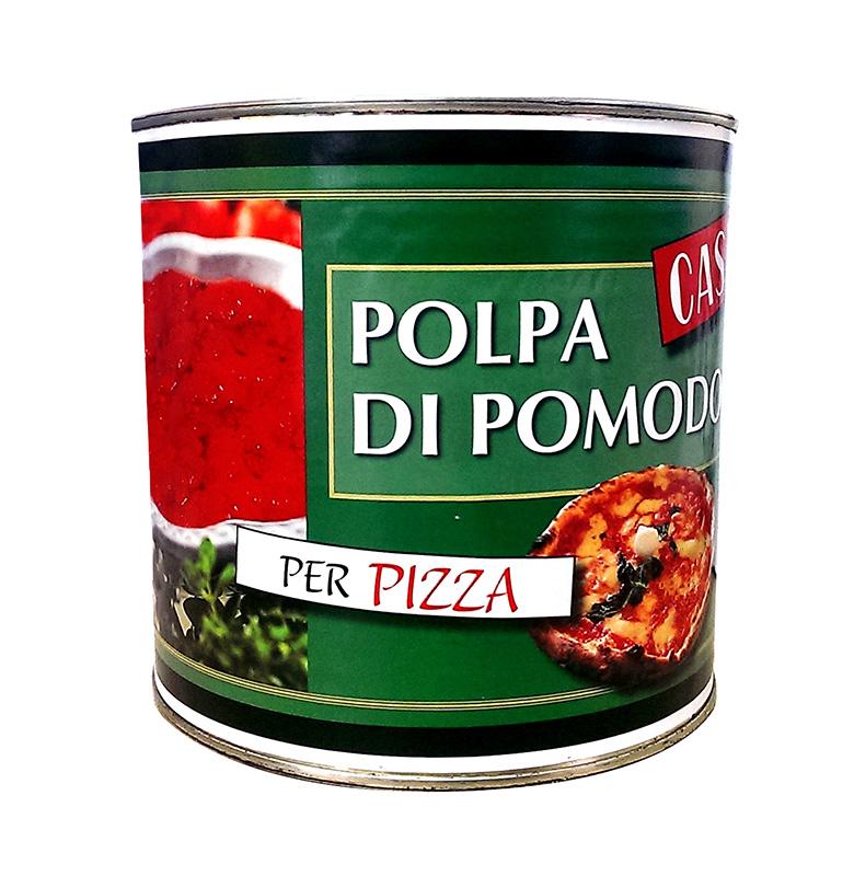 Помидоры протертые (томатная паста) для пиццы Casar, 2.5кг фото