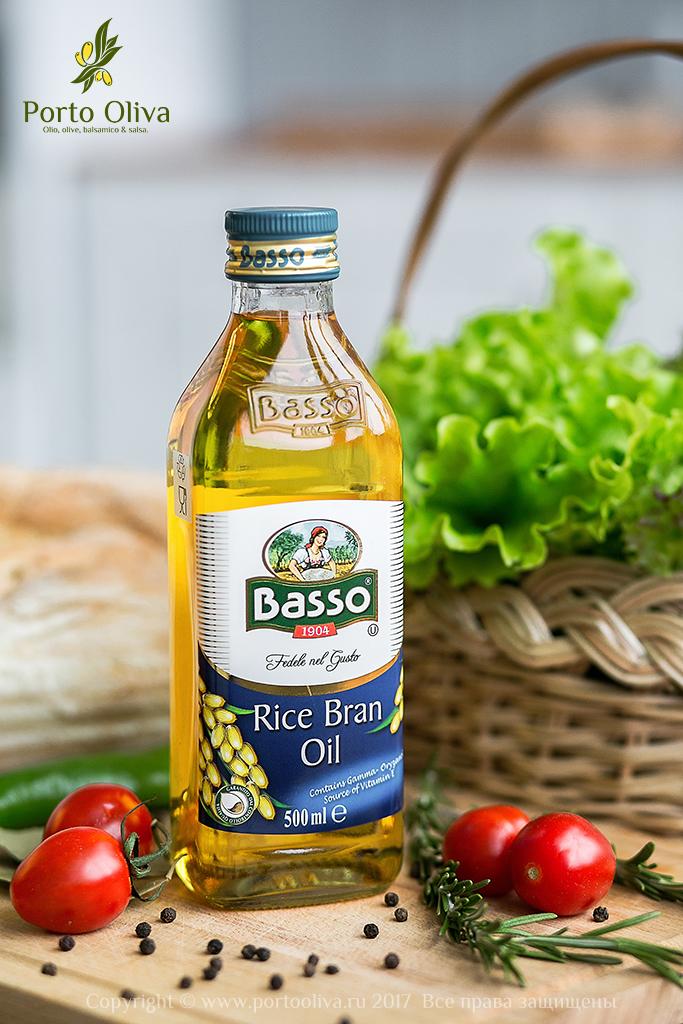 Масло рисовое рафинированное Basso 500мл фото