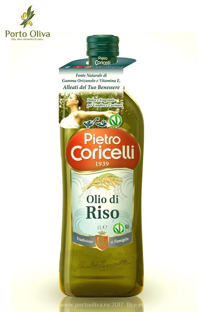 Масло рисовое Pietro Coricelli 1л фото