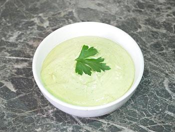 Рецепт салатной заправки с авокадо