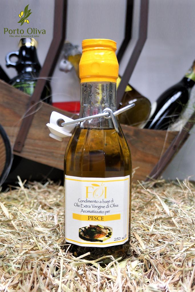 Оливковое масло для рыбы FOI 250мл фото