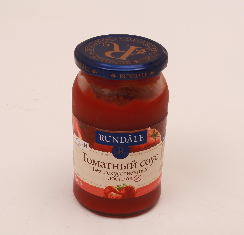 Соус томатный без искусственных добавок Rundale 400г фото