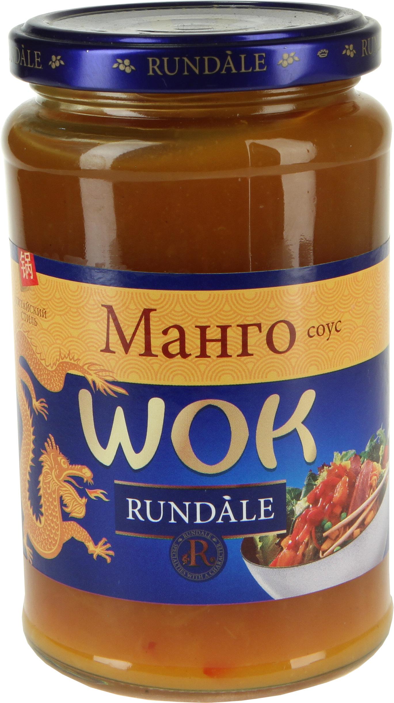 Соус WOK с манго Rundale 400г фото